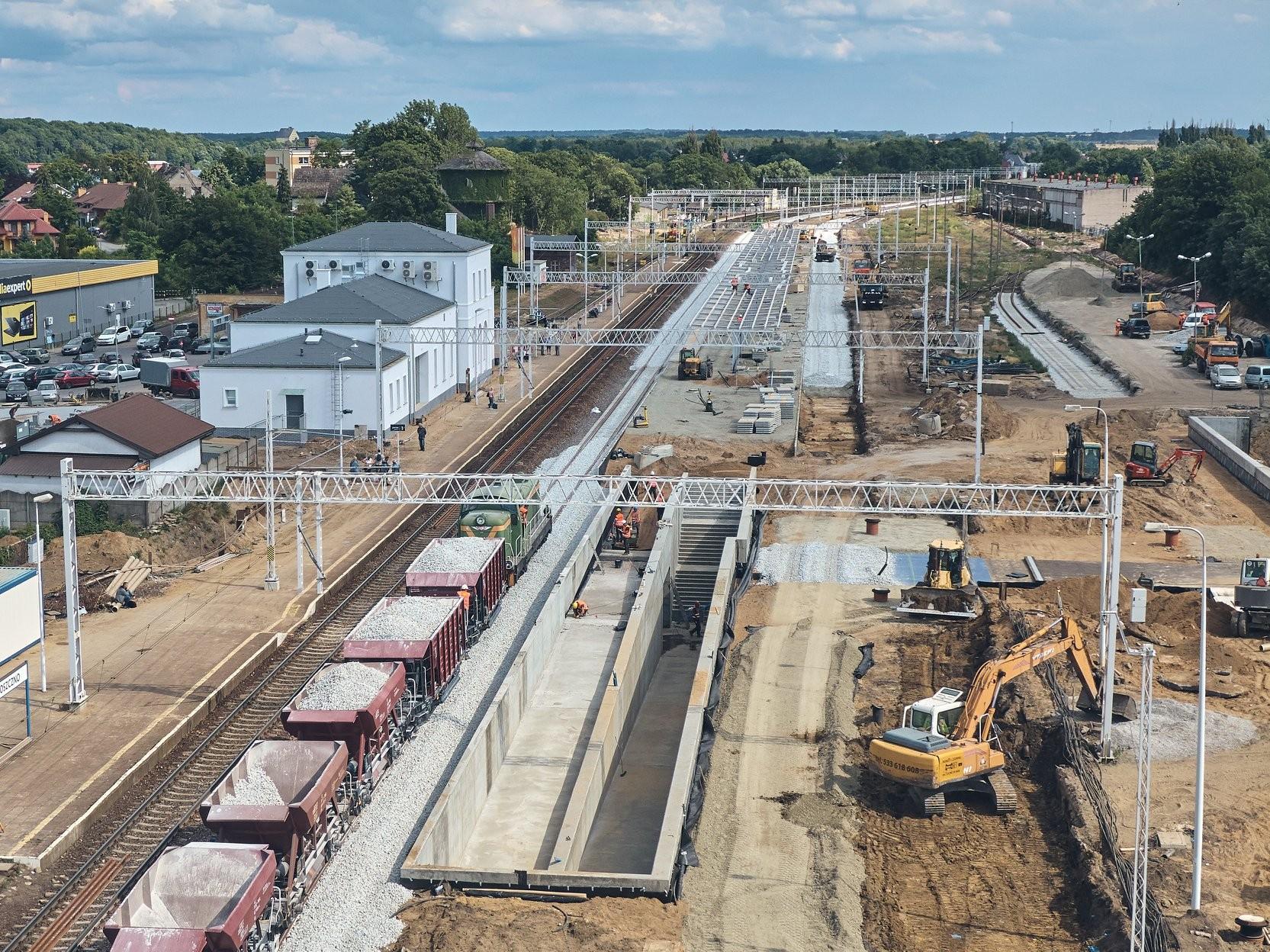 Przebudowa Linii E-59 na odcinku Słonice - Choszczno