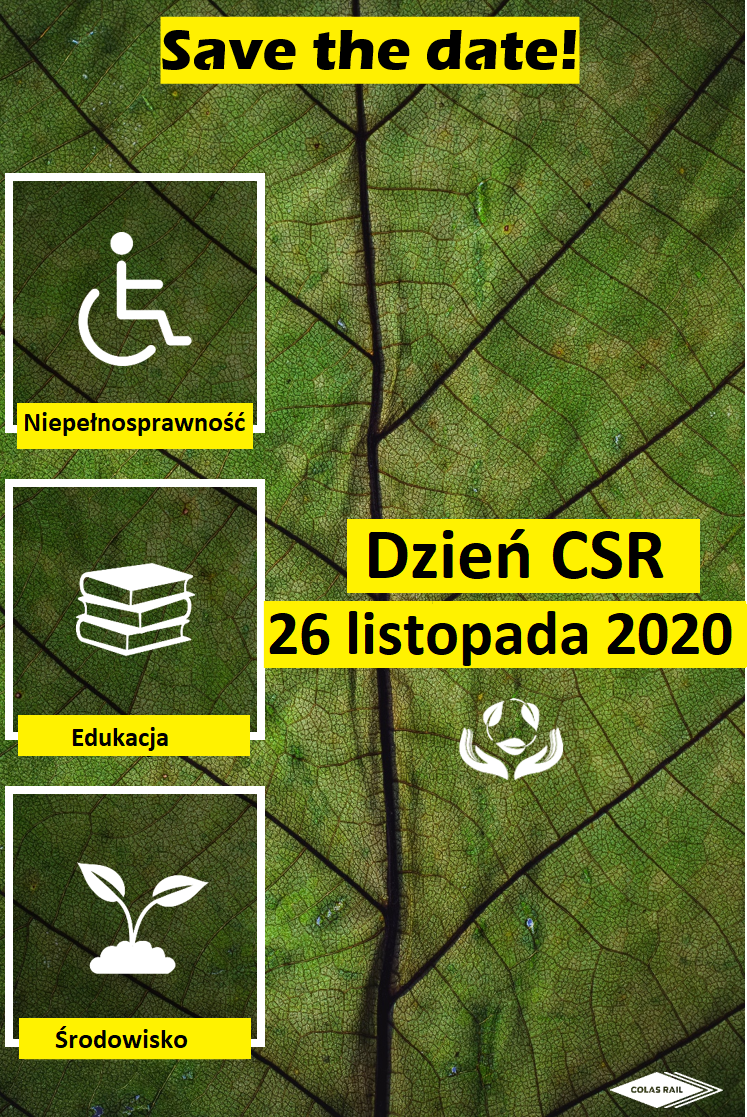 Dzień CSR w ColasRail Together We standfor Disabilityand Education