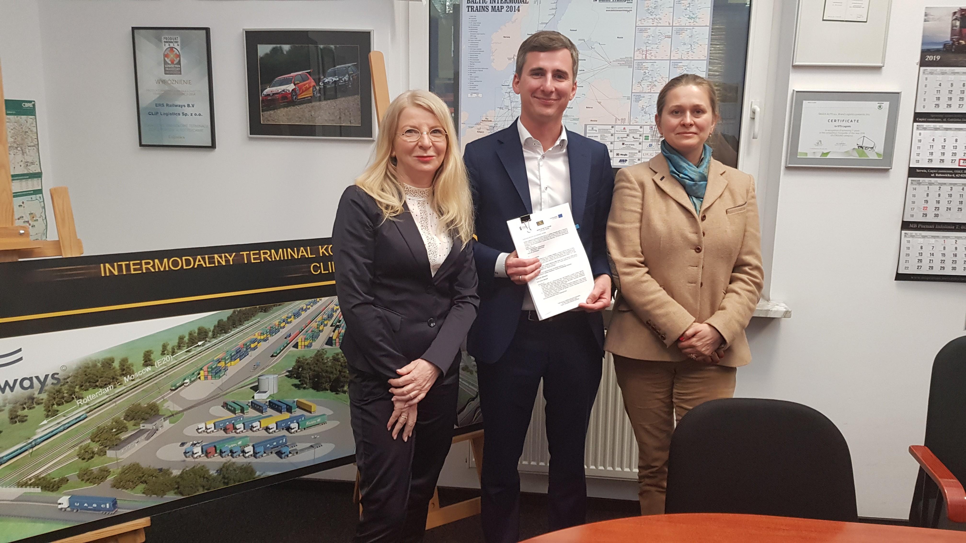 COLAS RAIL rozbuduje centrum logistyczno inwestycyjne w Swarzędzu